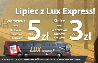 lux express lipiec